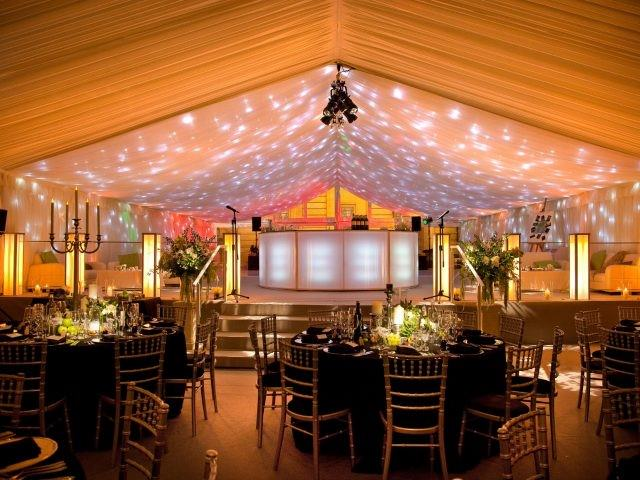 split level marquee hire