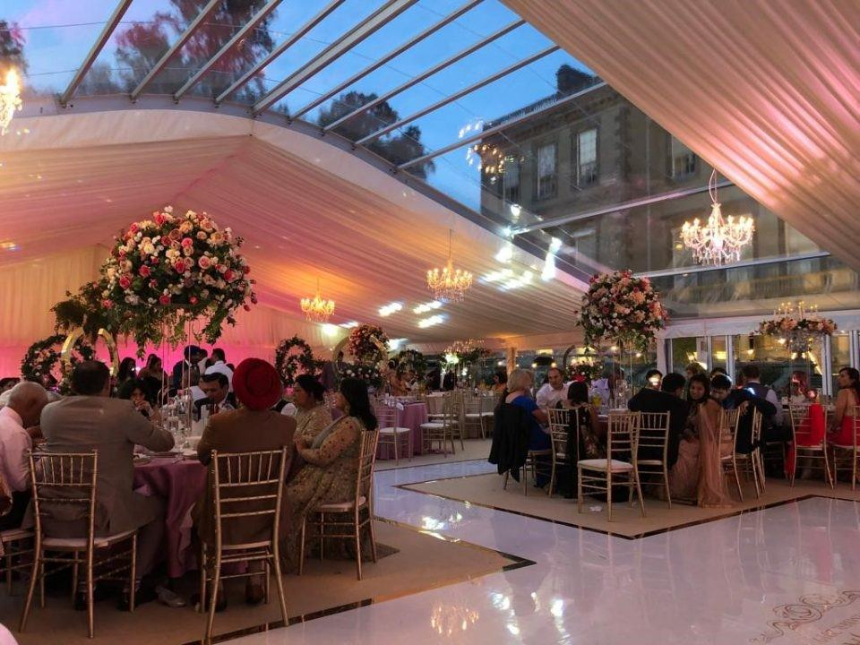 asian wedding marquee