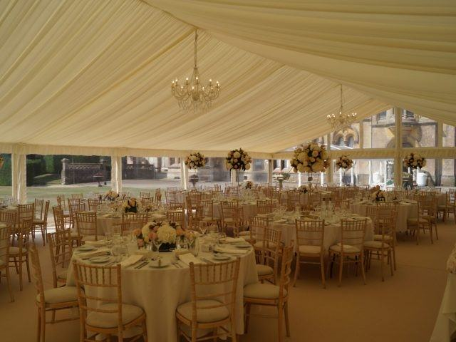 Marquee hire at Grittleton House