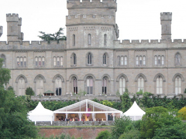 eastnor castle marquee hire