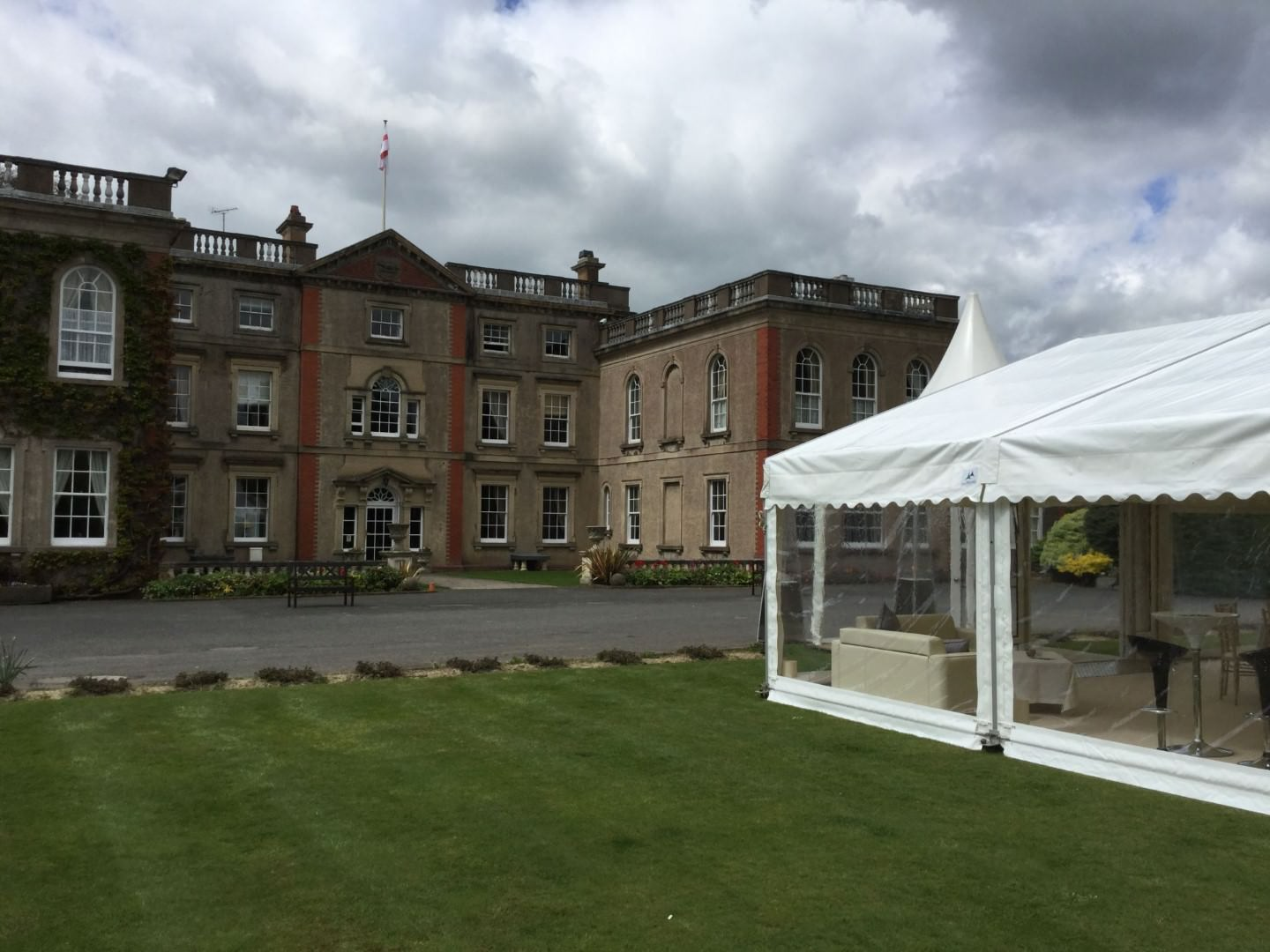 Marquee Hire Good Intents at The Elms Abberley