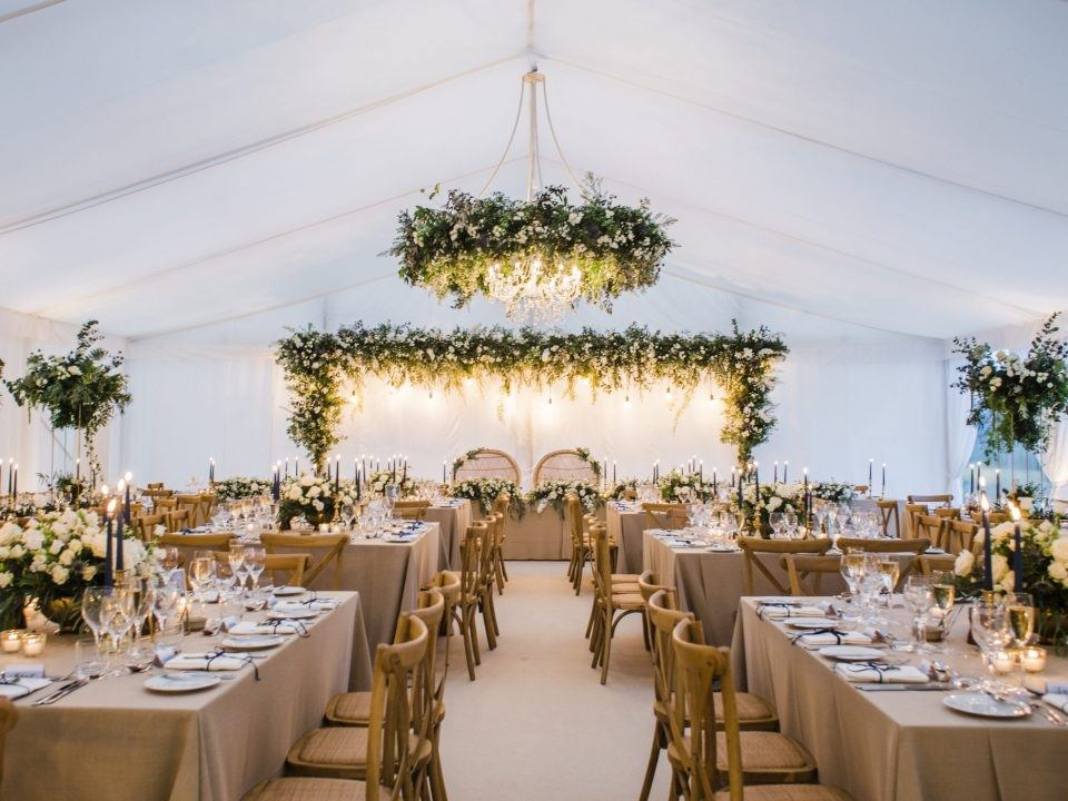 Barnsley House Marquee Wedding