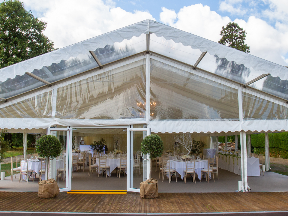 Marquee hire at The Greenway