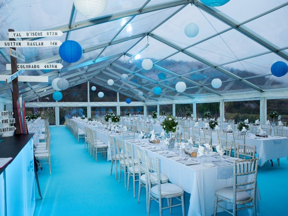 Luxury Marquee for a Society Ball