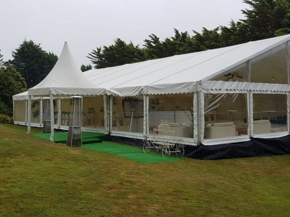 marquee hire in south wales
