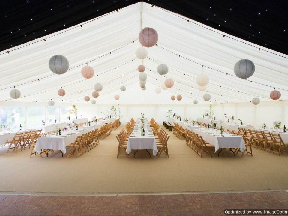 Birthday Marquee in Rural Worcestershire