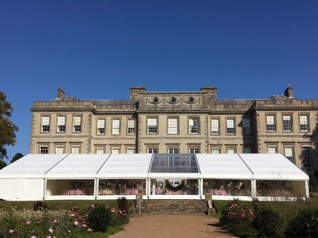 premium marquee at ragley hall