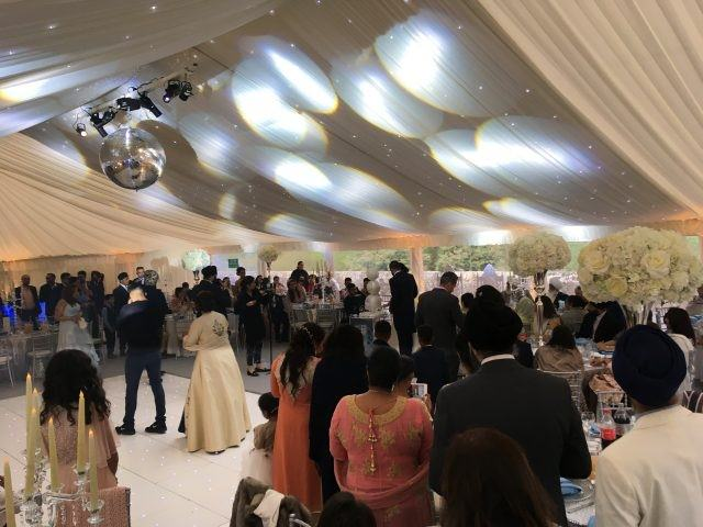 asian marquee wedding