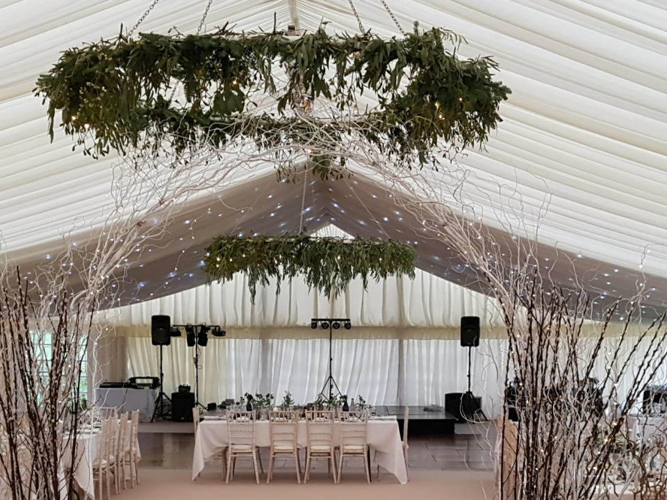 Winter Marquee Weddings