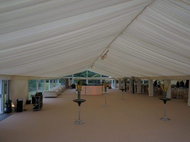 Sandon Hall Marquee