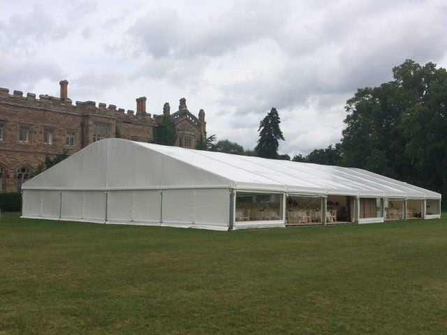 marquee at hampton court