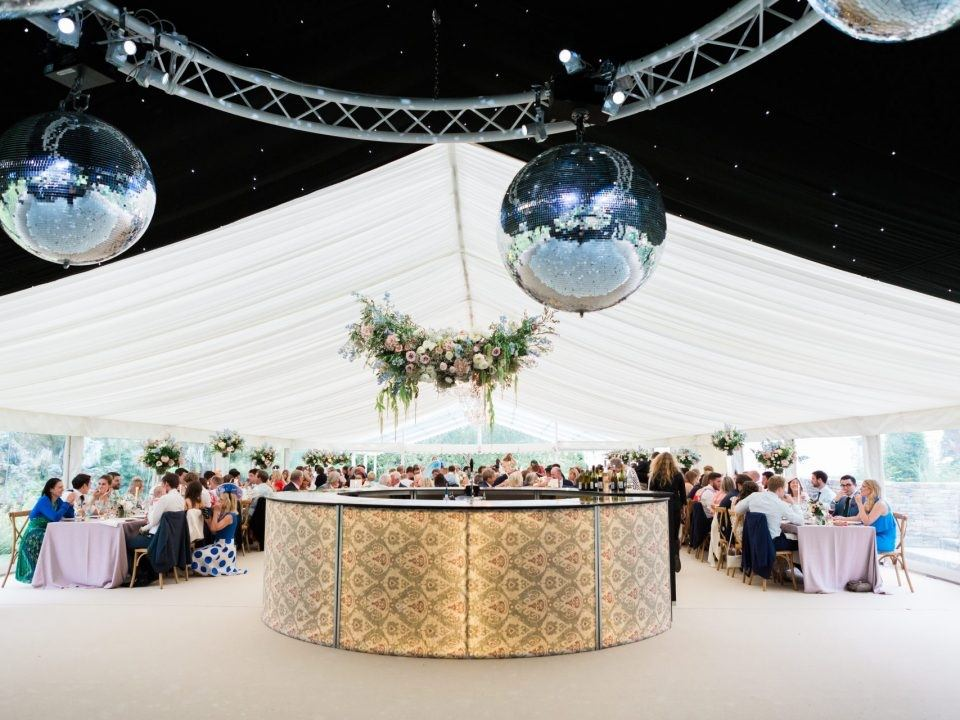worcestershire wedding marquee
